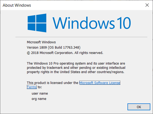 How to Know the Current Windows 10 Version