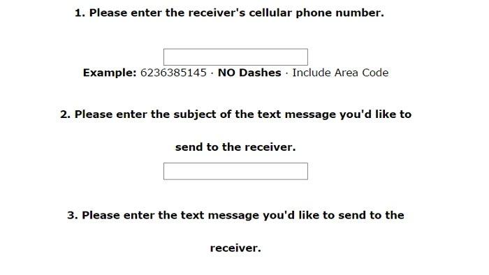 TextForFree, Top 7 sitios para enviar mensajes de texto anónimos.