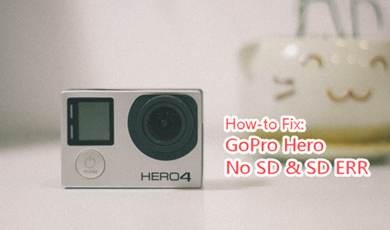 ¿Cómo corregir el error de la tarjeta SD en GoPro Hero?
