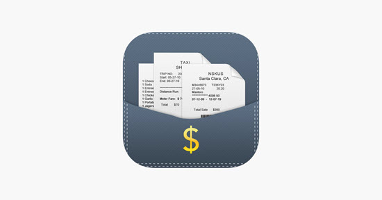 Receipts Plus, Las mejores aplicaciones de seguimiento de recibos de iPhone.