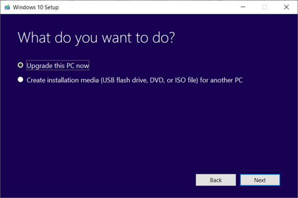 Download Windows 10 Latest Update with Update Assistant