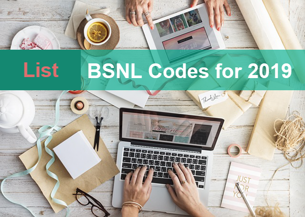 A Complete List of BSNL USSD Codes