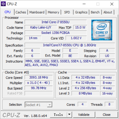 CPU-Z is one of the top best Free Benchmark Software for Windows.