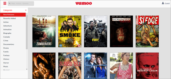 Vumoo, Top 10 Movie4k Alternativen für Sie.