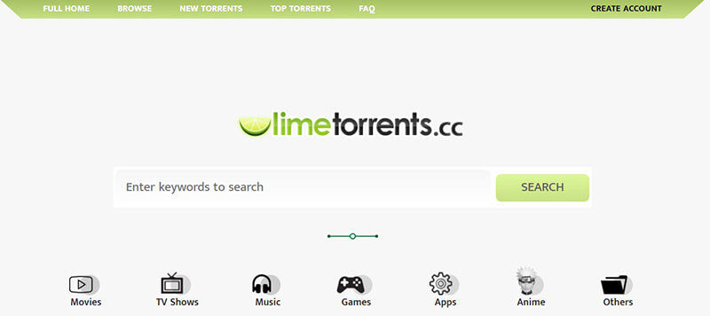 LimeTorrents, Torrentz / torrentz2 alternativas: 10 sitios de torrent similares.