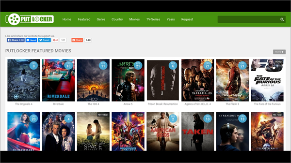 Putlocker, Top 10 alternativas de Movie4k para ti.