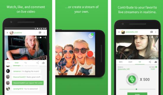 Stream, Aplicaciones de grabación de pantalla para Android.