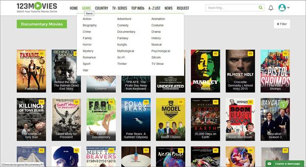 123 Movies, Top 10 des alternatives Movie4k pour vous.