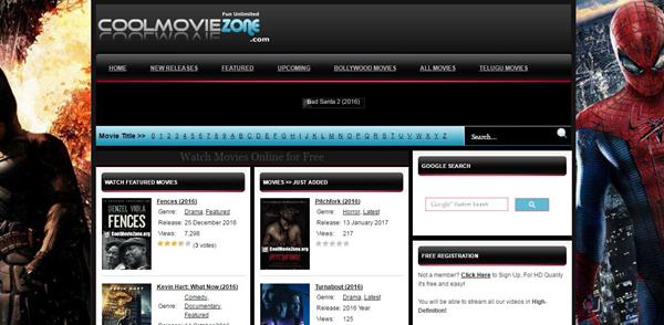 CoolMovieZone, Top 10 des alternatives Movie4k pour vous.