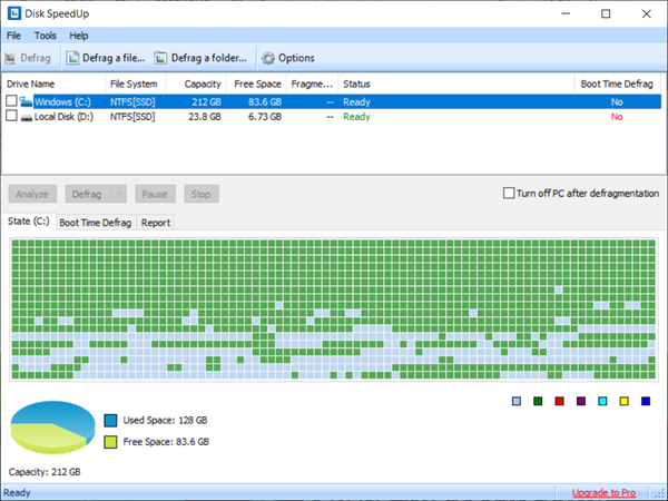 GlarySoft Disk Speedup is one of the bop best Disk Defragmenter Software for Windows.