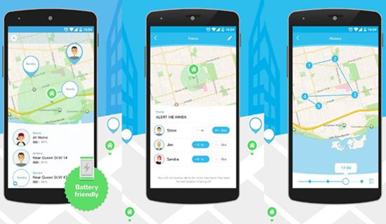 Trouvez votre téléphone Android à l'aide de l'application Family Locator