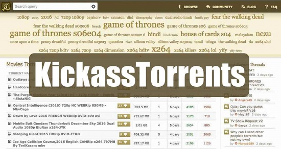 15 meilleurs alternatives de Kickass Torrents / Accès KAT via proxy