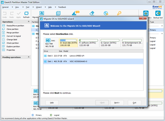 ¿Cómo migrar el SO al SSD con Little Fuss and Bother?