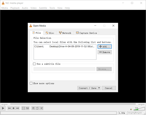 Repair Corrupted Video Free with VLC Media Player
