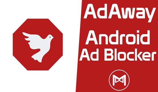 Adaway, Top aplicaciones de bloqueador de anuncios para Android.