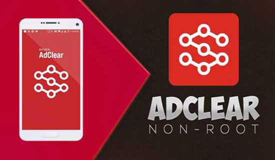 Adclear, Top aplicaciones de bloqueador de anuncios para Android.