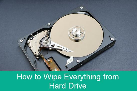 Wie löscht man die Festplatte im PC und entfernt löscht alles?
