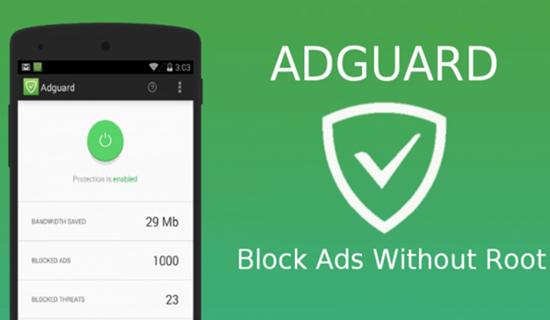 AdGuard for Android, Les 10 applications de blocage des publicités pour Android.