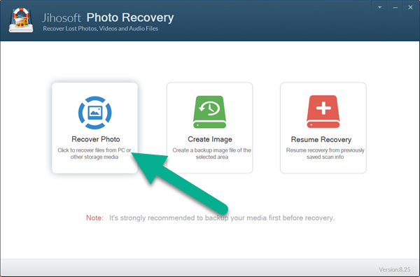 How to retrieve photos from Fujifilm camera with photo recovery software