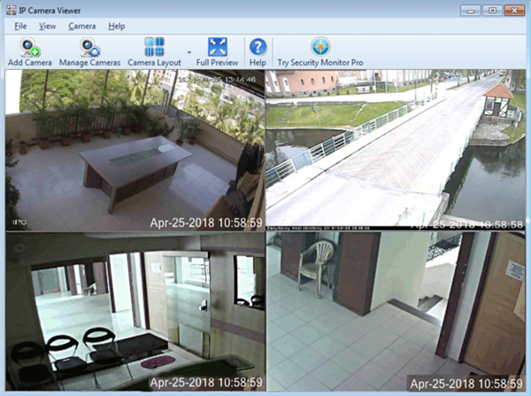 IP Camera Viewer is one of the top best Free Webcam Software.