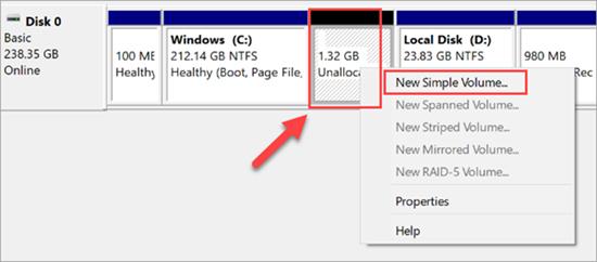 Wie partitioniert man eine Festplatte unter Windows 10/8/7 ?