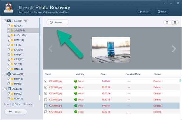 How to retrieve photos from Fujifilm camera with photo recovery software.