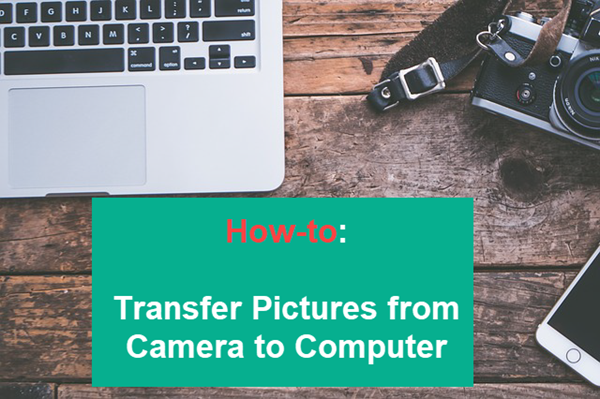 Transfer Pictures from Camera to Computer.