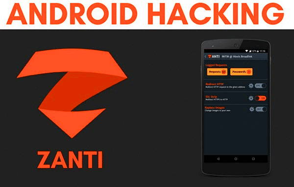 Using zANTI to hack Android phone without Root.