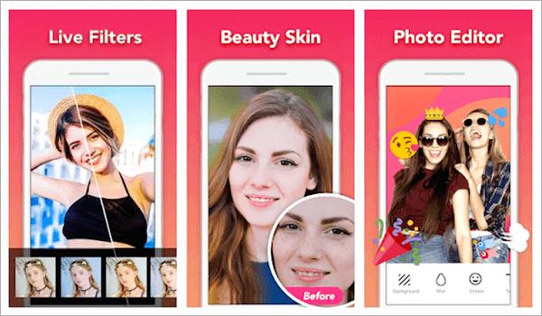 Selfie Camera, Las 5 mejores aplicaciones de cámara de Selfies para Android.