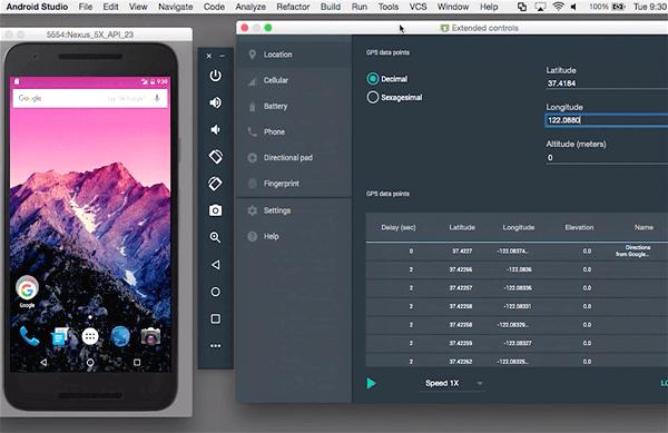 Android Studio, Émulateurs Android gratuits pour Windows et Mac.