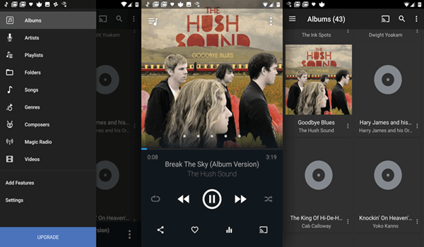 DoubleTwist, Meilleurs lecteurs audio pour Android.