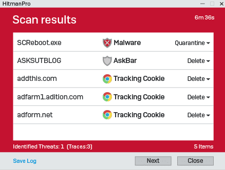 Fix Win32: Malware-gen Virus Detection using HitmanPro