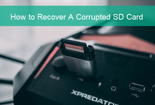 How to Recover Corrupt SD Memory Card.