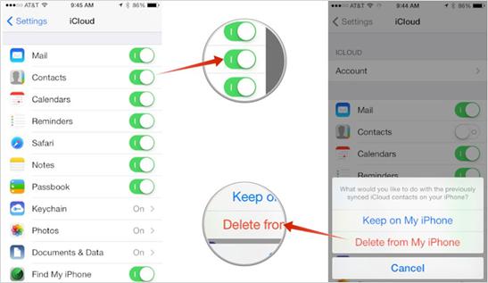 Wie kann man gelöschte Kontakte aus der iCloud wiederherstellen?