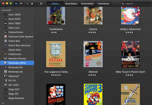 OpenEmu is one of the top free Nintendo SNES emulators.