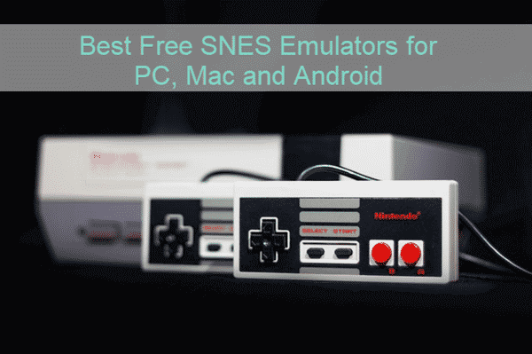 Top Free Nintendo SNES Emulators.