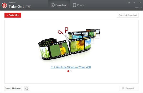 Gihosoft TubeGet ist eine mobile YouTube-Download-Software