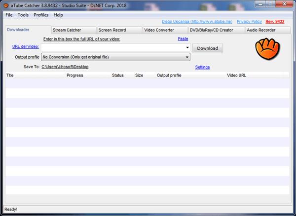 Übrigens ist aTube Catcher eine virusfreie, vielseitige Software, die viele Dinge bewerkstelligt.