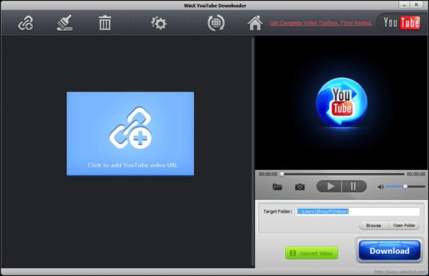WinX behauptet, dass Benutzer Videos von mehr als 300 Online-Hosting-Videoseiten - einschließlich Erwachsenen-Webseiten - herunterladen können.