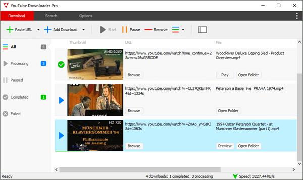 YouTube Downloader Pro ist eins der besten virenfreien Software-Programme für schnelle, unkomplizierte Online-Video-Downloads und -Konvertierungen auf dem PC.