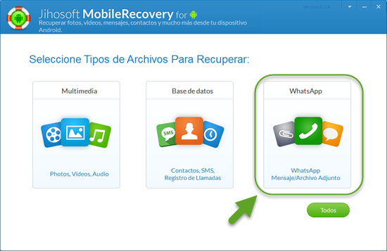 Tutorial sobre cómo recuperar la conversación de WhatsApp en Android