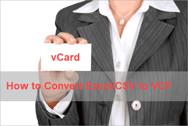 How to Convert Excel to vCard with Freeware or Online