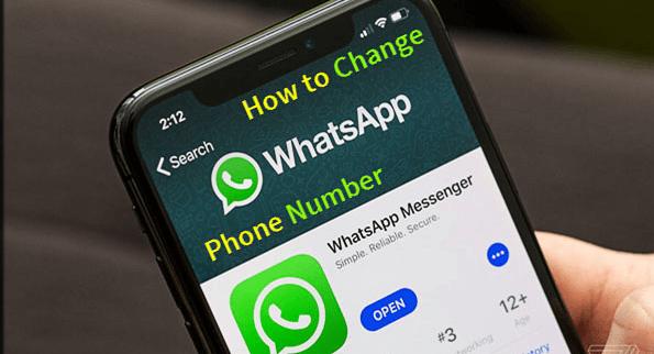 Wie kann man die WhatsApp Telefonnummer auf Android ändern?
