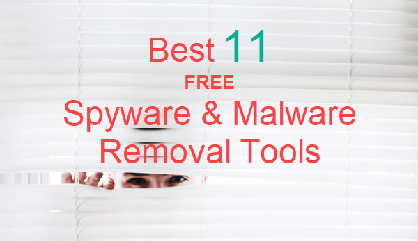 Herramientas de eliminación de spyware y malware