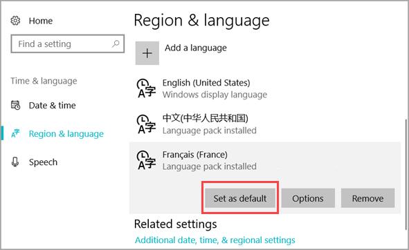 Instale el paquete de idioma de Windows 10 con Windows Update