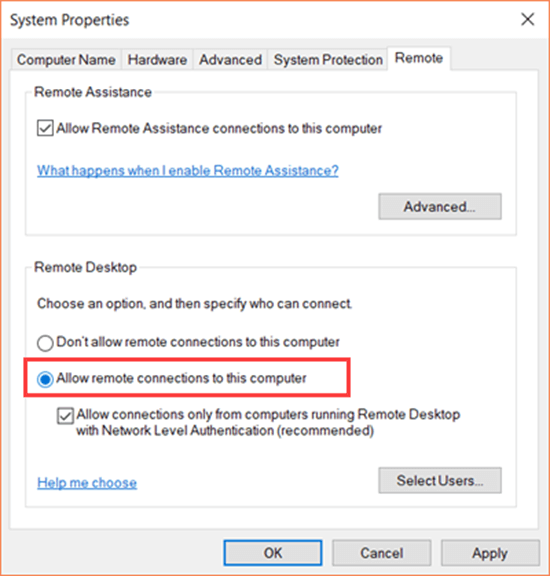müssen. Wie kann man die Remote Desktop Fernsteuerung in Windows 10 aktivieren?
