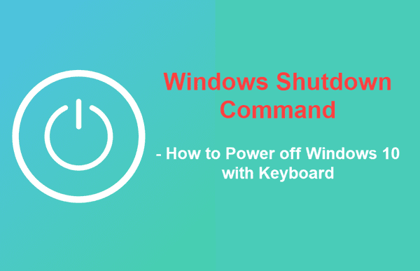 Windows Shutdown Command