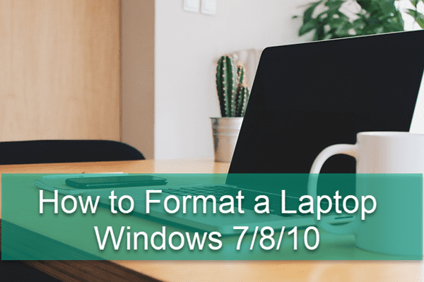 How to Format a Laptop Windows