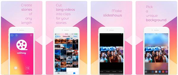 Wenn Sie ein iPhone oder iPad verwenden, können Apps wie CutStory das für Sie tun lassen.