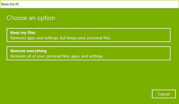 How to Format a Laptop Windows 10 in Settings